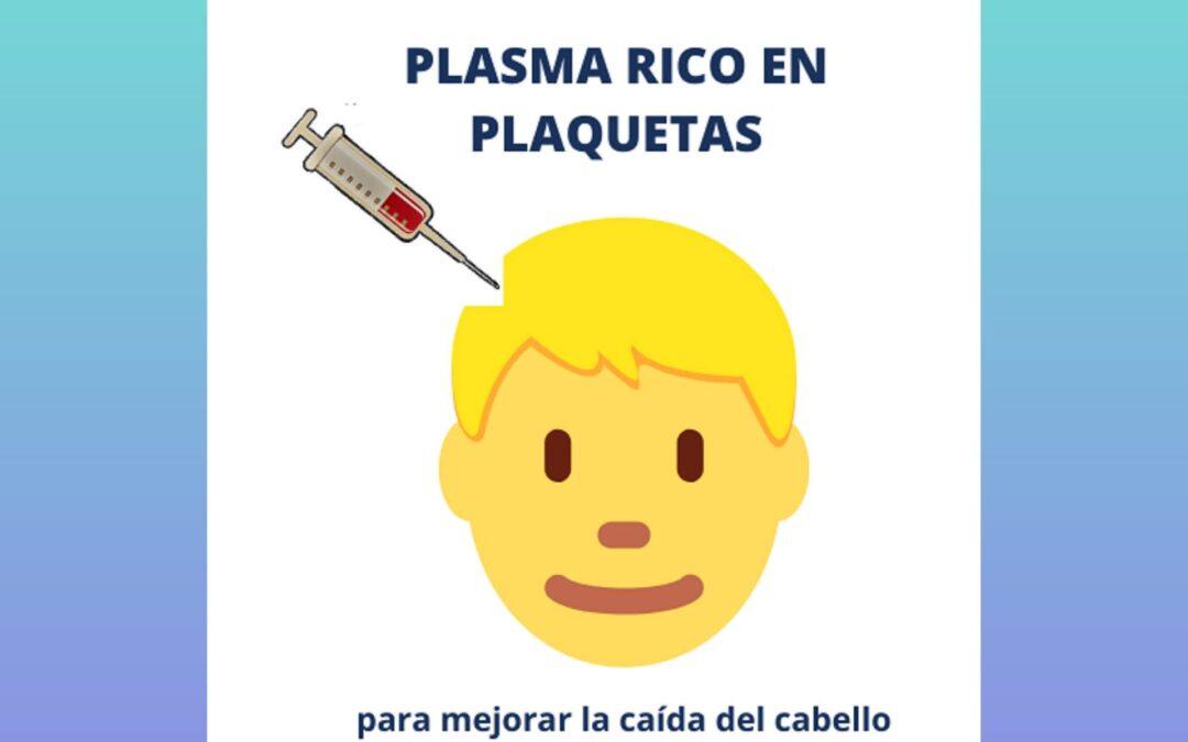Plasma enriquecido (PRP) para la caída del pelo
